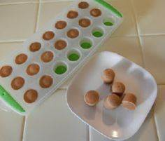 Frozen Protein Drops - Shelly's Fr - 240 High Protein Recipes - RecipePin.com