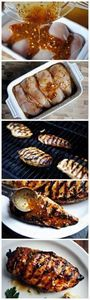 Grilled Honey Mustard Chicken or y - 240 High Protein Recipes - RecipePin.com
