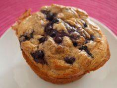 Blueberry protein muffin - 240 High Protein Recipes - RecipePin.com