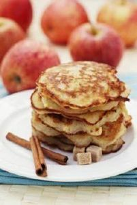 Harvest Apple Protein Pancakes (42 - 240 High Protein Recipes - RecipePin.com