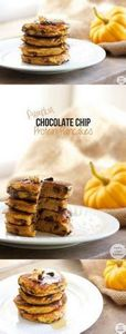Chocolate Chip Pumpkin Protein Pan - 240 High Protein Recipes - RecipePin.com