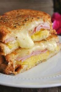 Hawaiian Grilled Cheese - 240 High Protein Recipes - RecipePin.com