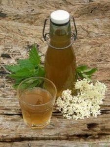 Nettle and elderflower beer with l - 300 Homebrewing Recipes to Brew at Home - RecipePin.com
