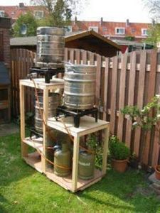 Installation for beer homebrewing - 300 Homebrewing Recipes to Brew at Home - RecipePin.com