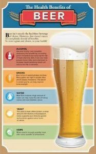 #Beer #Health benefits - 300 Homebrewing Recipes to Brew at Home - RecipePin.com