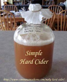 How to Make Hard Cider - three har - 300 Homebrewing Recipes to Brew at Home - RecipePin.com