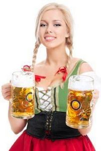Oktoberfesten Beer Fraulein - 300 Homebrewing Recipes to Brew at Home - RecipePin.com