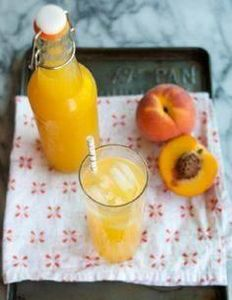 Summer Recipe: Fresh Peach Soda Re - 300 Homebrewing Recipes to Brew at Home - RecipePin.com