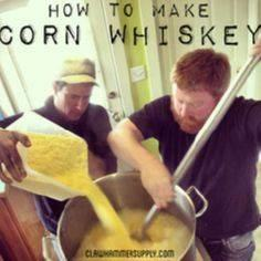Corn Whiskey Recipe – Copper Moons - 300 Homebrewing Recipes to Brew at Home - RecipePin.com