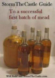 Irish tradition. Mead (Honey Wine)