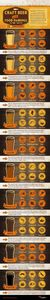 Craft Beer-Food Pairing Infographi - 300 Homebrewing Recipes to Brew at Home - RecipePin.com