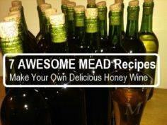 7 AWESOME Mead Recipes - 300 Homebrewing Recipes to Brew at Home - RecipePin.com