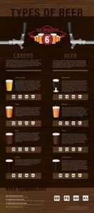 Types Of Beer -Lagers and Ales Inf - 300 Homebrewing Recipes to Brew at Home - RecipePin.com