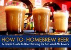A Simple Guide To Beer Brewing For - 300 Homebrewing Recipes to Brew at Home - RecipePin.com