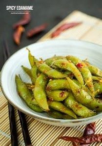 [JAPAN] Spicy Edamame | Easy Japan - 235 Japanese Recipes - RecipePin.com