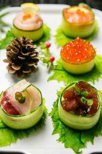Cucumber Wrapped Sushi | Sushi Rec - 235 Japanese Recipes - RecipePin.com