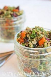 Kale and Quinoa Salad (The Naked K - 160 Kale Recipes - RecipePin.com