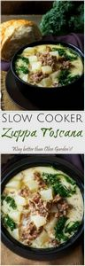 Slow Cooker Zuppa Toscana | The cl - 160 Kale Recipes - RecipePin.com