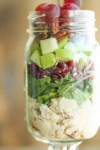 Chicken, Apple and Pecan Salad in - 160 Kale Recipes - RecipePin.com