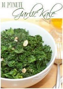 10 Minutes is all you need for thi - 160 Kale Recipes - RecipePin.com