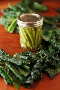 Pickled Kale Stems  Stems from 2 b - 160 Kale Recipes - RecipePin.com