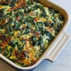 Kale, Bacon, and Cheese Breakfast - 160 Kale Recipes - RecipePin.com