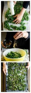 How to Make Kale Chips - 160 Kale Recipes - RecipePin.com