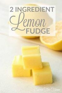 Only 2 ingredients brings a sweet  - 250 Lemon Recipes - RecipePin.com