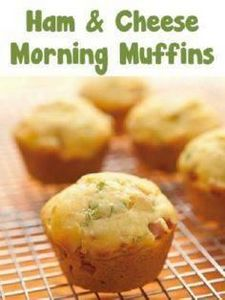 Ham and Cheese Morning Muffins Rec - 300 Low Carb Recipes - RecipePin.com