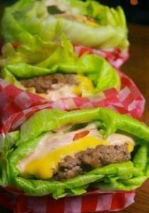 Lettuce-Wrapped Cheeseburgers | 27 - 300 Low Carb Recipes - RecipePin.com