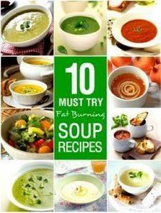 Soup is ideal for #weightloss diet - 300 Low Carb Recipes - RecipePin.com