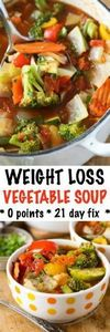 This Weight Loss Vegetable Soup Re - 300 Low Carb Recipes - RecipePin.com