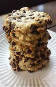 Low Carb Chocolate Chip Cookies -  - 300 Low Carb Recipes - RecipePin.com