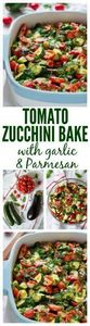 Tomato Eggplant Zucchini Bake with - 300 Low Carb Recipes - RecipePin.com