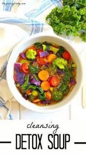 Cleansing Detox Soup || Immune-boo - 300 Low Carb Recipes - RecipePin.com