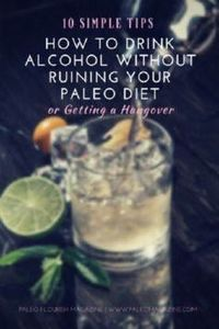 How to Drink Alcohol without Ruini - 300 Low Carb Recipes - RecipePin.com
