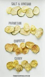 Zucchini Chips 4 Ways - The Copper - 300 Low Carb Recipes - RecipePin.com