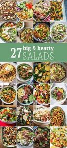These 27 BIG HEARTY SALADS are the - 300 Low Carb Recipes - RecipePin.com