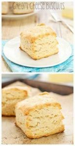 Cream Cheese Biscuits…melt in your - 300 Low Carb Recipes - RecipePin.com