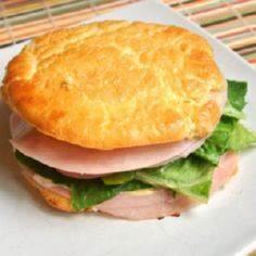 Cloud Bread | It's bread….. that's This stuff is like little pillows of goodness. - 300 Low Carb Recipes - RecipePin.com
