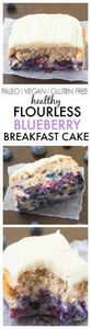 Healthy Flourless Blueberry Breakf - 300 Low Carb Recipes - RecipePin.com