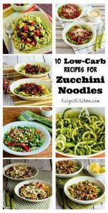 Zucchini noodles are easy and heal - 300 Low Carb Recipes - RecipePin.com