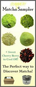 What is this matcha and why is there such a craze? Wonder no more with our Matcha Sampler! Explore the different grades and types of matcha from Ceremonial to Sweet! And get a sample of Sweet Cherry Berry to cool off this summer! #matcha - 300 Low Carb Recipes - RecipePin.com