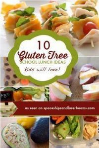10 Gluten Free School Lunch Ideas  - 85 Lunch Box And Snack Ideas - RecipePin.com