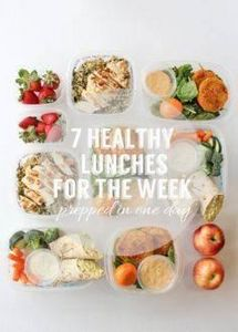 7 Healthy Lunches For The Week - 85 Lunch Box And Snack Ideas - RecipePin.com