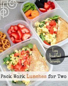The Grown-Up Lunch category on thus blog has tons of awesome work lunches! - 85 Lunch Box And Snack Ideas - RecipePin.com