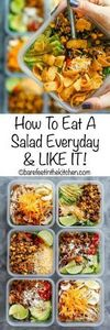 How To Eat Salad Everyday & LI - 85 Lunch Box And Snack Ideas - RecipePin.com