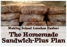 The Sandwich-Plus Plan: not really - 85 Lunch Box And Snack Ideas - RecipePin.com