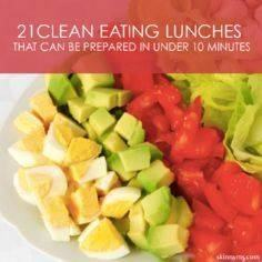 21 Clean Lunches that Can Be Prepa - 85 Lunch Box And Snack Ideas - RecipePin.com
