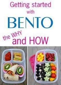 Getting started with BENTO - the w - 85 Lunch Box And Snack Ideas - RecipePin.com